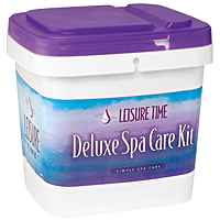 LTM Chlorine Deluxe Spa Care Kit w/ DVD