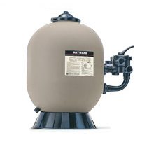 24 in. Polymeric Filter with side valve 2""