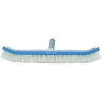 A&B 18in Curved Metal Back Wall Brush