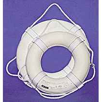 Jim Buoy USCG Approved Life Ring, 20in.
