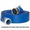 Reinforced Lay-Flat Discharge Hose and Suction Hose