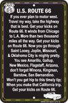 Route 66 Song Sign