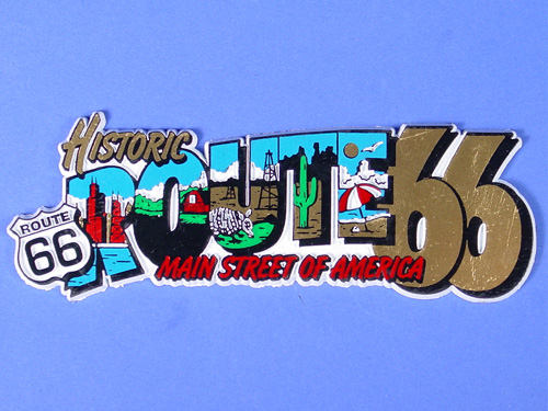 Scenic Letters Magnet
