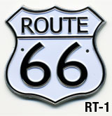 Route 66 Medallion (attach to walking stick)