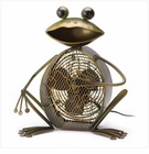Decorative Frog  Fan