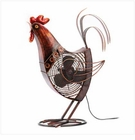 Decorative Rooster  Fan