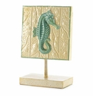 Sea Horse Standing Plaque