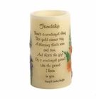 Heartnotes Flameless Friendship Candle