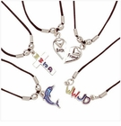 Assorted Cord Necklaces 15 pk