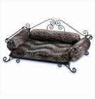 Luxury Leopard Print Pet Bed