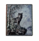 Timber Wolf Tapestry Throw