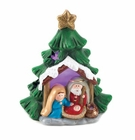Light-Up Nativity Tree Decor