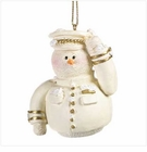 Snowberry Cuties Air Force Ornament