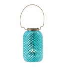 Blue Diamond Candle Lantern