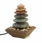 Stacked Stone Zen Fountain
