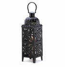 Giant Black Medallion Lantern