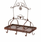 Western Kitchen Pot Rack