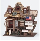 Wooden Restaurant  Bird House