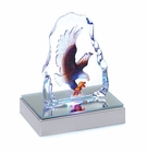 Eagle Crystal Sculpture