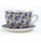 Lavender Rose Teacup Planter