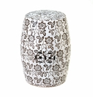 Decorative Floral Stool
