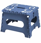 Folding Blue Step Stool