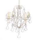 Ivory Baroque Chandelier
