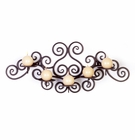 Wrought Iron Wall Mounted Candle Holder