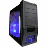 Apevia X-SUPRA G-Type Case w/Window - Black - Free Shipping!