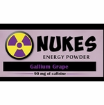 Nukes Gallium Grape Energy Powder
