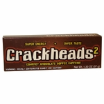 Crackheads 2 Gourmet Chocolate Covered Espresso Bean Candy