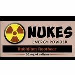 Nukes Rubidium Root Beer Energy Powder