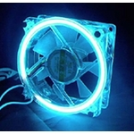 Blue Cold Cathode 80mm Fan