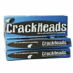 CrackHeads Chocolate Covered Espresso Beans Candy