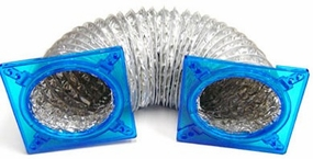 Logisys Thermal Cooling Venting Kit - Blue