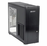 Silverstone TJ-10 Case w/ Window - Black