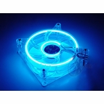 Blue Dual Cold Cathode 120mm Fan