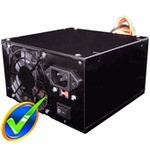 Sunbeam / CaseGears Black Steel 480W Power Supply