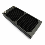 XSPC AX240 Dual Fan Radiator (Black)
