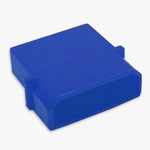 Male 4-pin Molex Connector Housing - UV Blue
