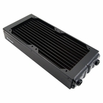 Koolance Low-Flow 2x120mm Radiator (no nozzles)