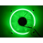 Green Cold Cathode 80mm Fan