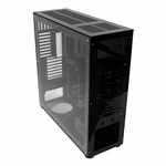 FrozenQ Liquid Full Tower X1 Full Tower Computer Case - Black/Black