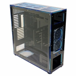 FrozenQ Liquid Full Tower X1 Full Tower Computer Case - Black/Blue