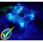 Logisys 550w Acrylic PCI-X Power Supply w/ 120mm LED Fan