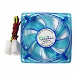 Apevia 120mm 4pin UV Blue LED Case Fan