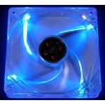 Yate Loon Quad Blue LED Silent Clear 120mm Fan