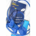Xoxide Wire Sleeving Kit (UV Blue)