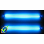 12in Dual Blue Cold Cathode Kit