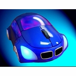 Logisys M-Coupe Optical Mouse - Blue
